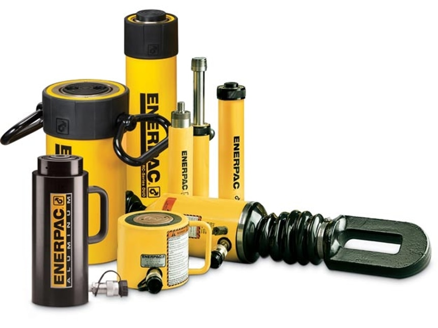 Hydraulic Cylinders, Jacks, Rams | Enerpac