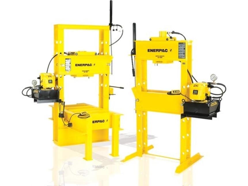 Hydraulic Presses | Industrial Shop Press | Enerpac