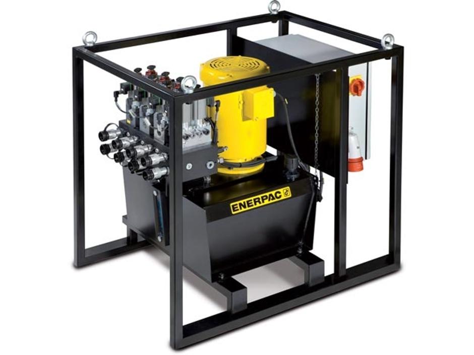 sfp604sw pompe hydraulique lectrique d bits s par s 6 sorties 4 3 distributeur lectrique. Black Bedroom Furniture Sets. Home Design Ideas