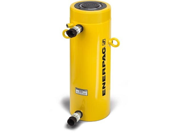 """BRAND NEW Enerpac 5 Ton 5/"""" Stroke Portable Hydraulic Single Acting Cylinder RC55"""