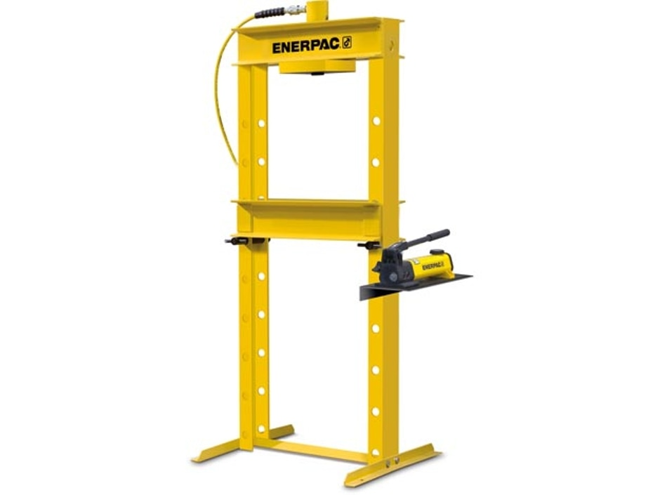 Iph1240 10 Ton H Frame Hydraulic Press With Hand Pump