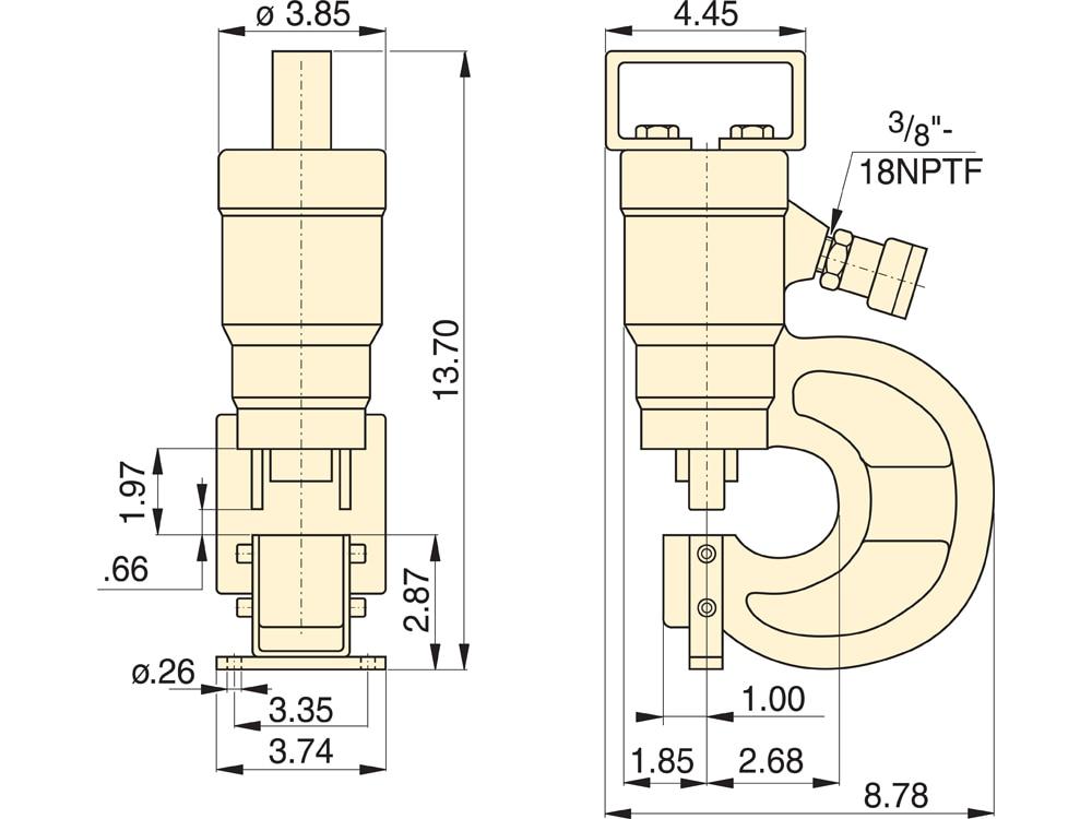 ENERPAC SP-35 /& POWER TEAM  punch /& die sets sets 6